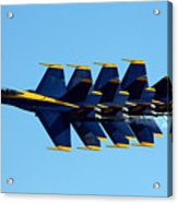 Blue Angels 1-4 Acrylic Print