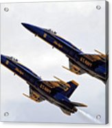 Blue Angels Iv Acrylic Print