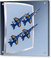 Blue Angels - Oof Acrylic Print