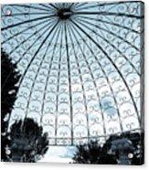 Blue Arbor Acrylic Print