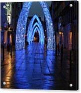 Blue Arch Acrylic Print