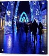 Blue Archways Of London Acrylic Print