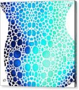 Blue Art - Colorforms 3 - Sharon Cummings  Acrylic Print