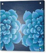 Blue Autum Acrylic Print