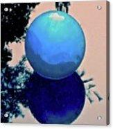 Blue Ball 2 Acrylic Print