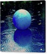 Blue Ball 4 Acrylic Print