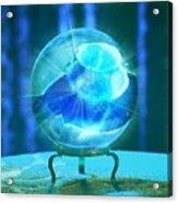 Blue Ball Acrylic Print