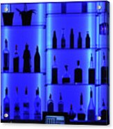 Blue Bar Acrylic Print