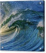 Blue Barrel Acrylic Print
