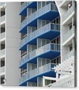 Blue Bayu Acrylic Print