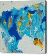 Blue Beast Acrylic Print