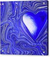 Blue Beats Acrylic Print