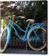 Blue Bike Acrylic Print