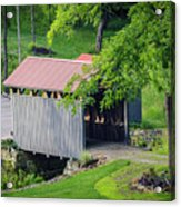 Blue Bird Farm Acrylic Print