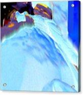 Blue Blanket Acrylic Print