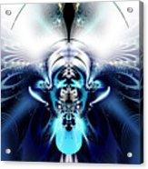 Blue Blazes Acrylic Print