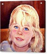 Blue Blue Eyes Acrylic Print