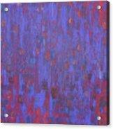 Blue Blue I Love You. Acrylic Print