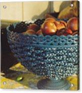 Blue Bowl Acrylic Print