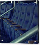 Blue Box Seats Acrylic Print