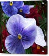 Blue Boys Acrylic Print