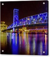 Blue Bridge 2 Acrylic Print