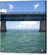 Blue Bridge Acrylic Print