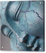 Blue Buddha Of Serenity Acrylic Print