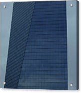 Blue Building Acrylic Print