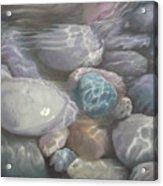 Blue Calm Acrylic Print