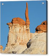 Blue Canyon Finger H Acrylic Print