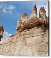 Blue Canyon Minarets Acrylic Print