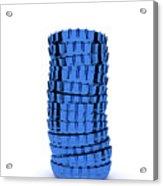 Blue Cap Acrylic Print