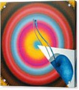 Blue Chery Of Moletai. Acrylic Print