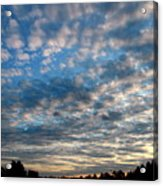 Blue Cloud  Neelamegam Acrylic Print
