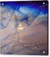 Blue Cloud Waves Acrylic Print