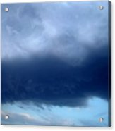 Blue Clouds One Acrylic Print