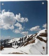Blue Cloudy Sky Over Spring Tatra Mountains, Poland, Europe Acrylic Print