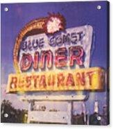 Blue Comet Diner - Hazelton Acrylic Print