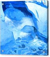 Blue Cove Acrylic Print