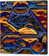 Blue Curve 3 Acrylic Print