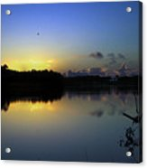 Blue Dawn At Dirickson Creek Acrylic Print