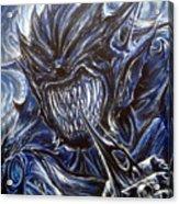 Blue Demon Acrylic Print