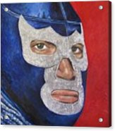 Blue Demon Jr Acrylic Print