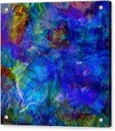 Blue Doggie Acrylic Print