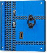 Blue Door Accents Acrylic Print