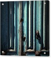 Blue Door. Essaouira. Morocco Acrylic Print