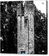 Blue Door Tower Acrylic Print