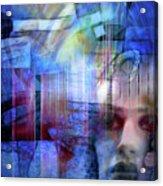 Blue Drama Vision Acrylic Print