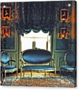 Blue Drawing Room Acrylic Print